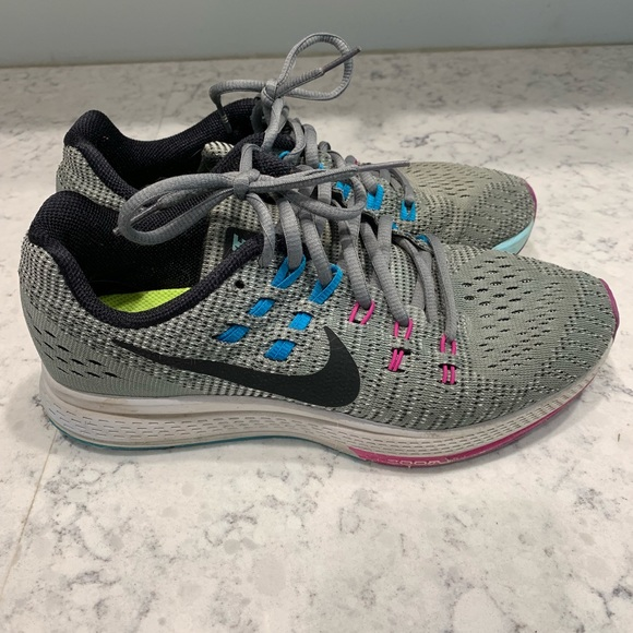 low priced 47e24 00c50 Nike Zoom Structure 19, Gray Size 8. M 5c701082819e9034eff05567